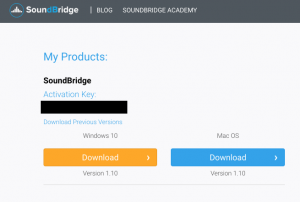 SoundBridge Download