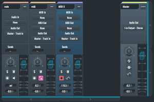 SoundBridge Mixer